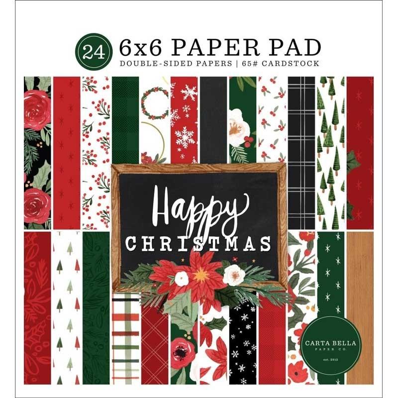 Carta Bella Happy Christmas  Paper Pad