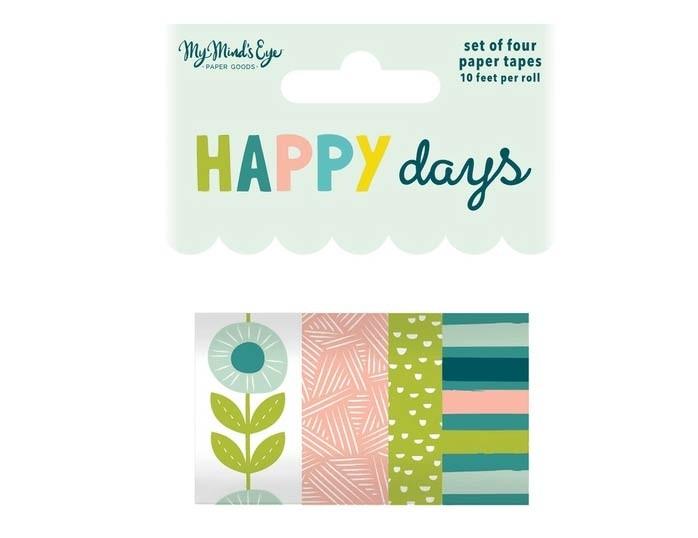 My Mind's Eye Happy Days Washi Tape