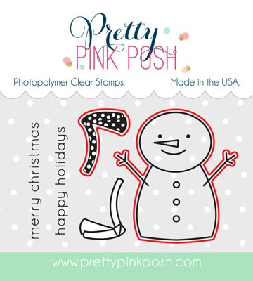 Pretty Pink Posh Happy Snowman Dies