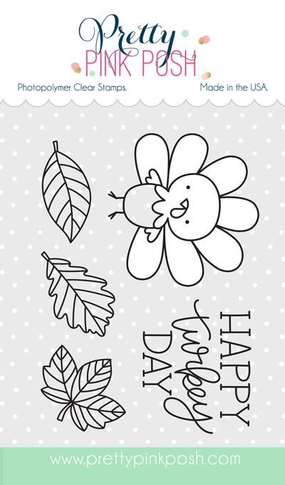 Pretty Pink Posh Happy Turkey Stamp Set