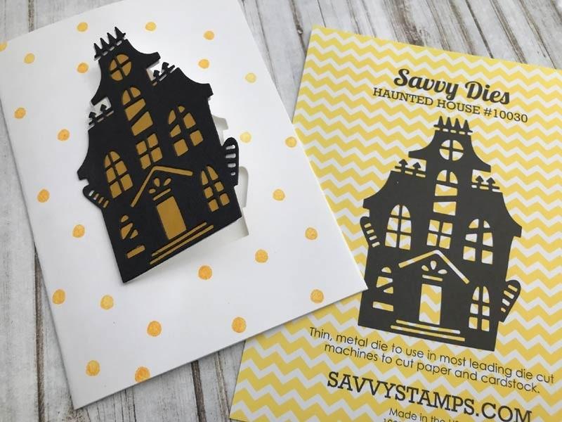 Savvy Haunted House Die (10030)
