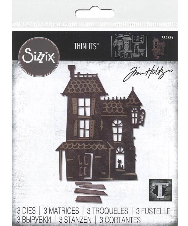 Sizzix Haunted House Die 664735