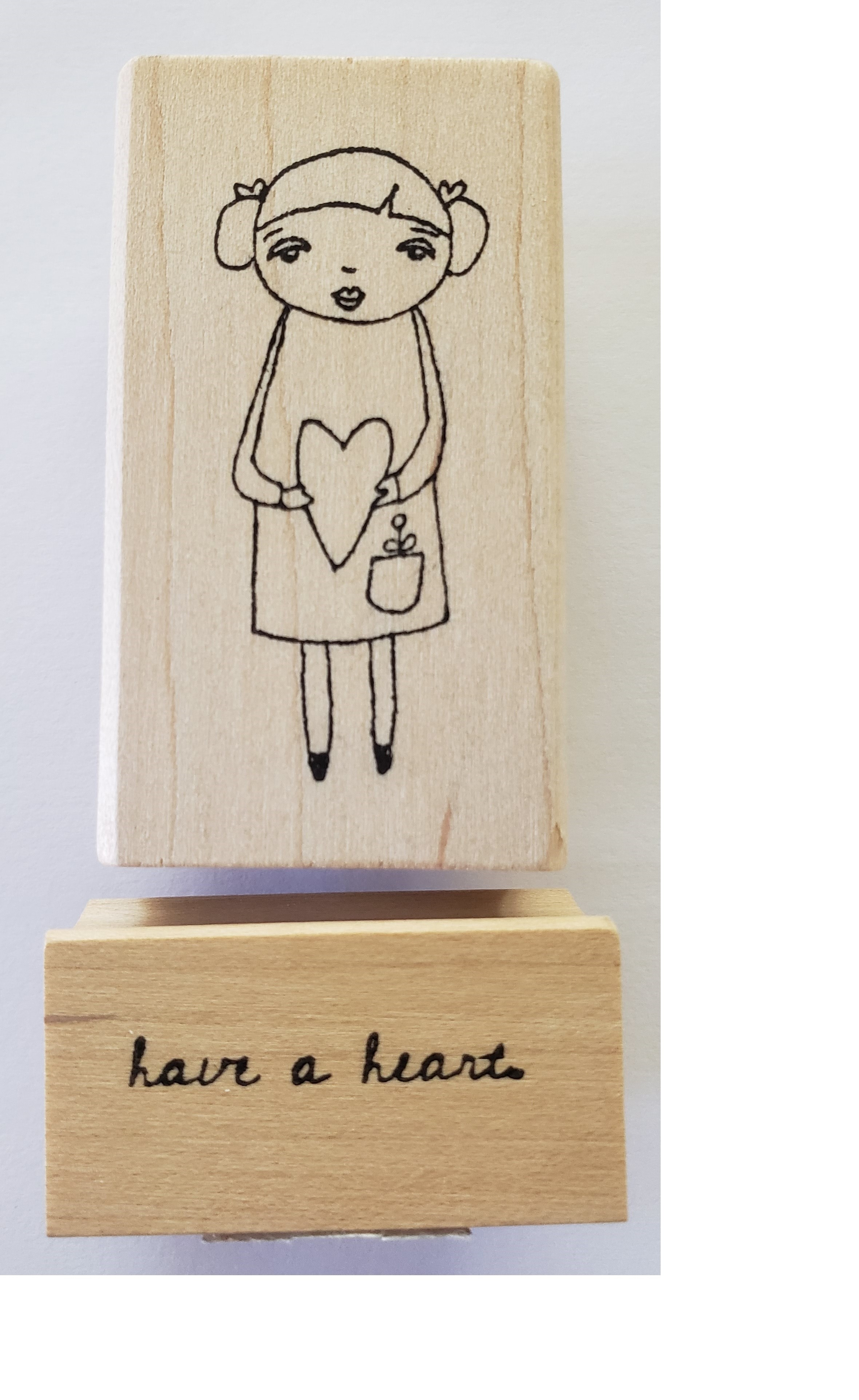 Rubbermoon Have a Heart stamp set