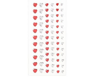 Heart Bling Stickers