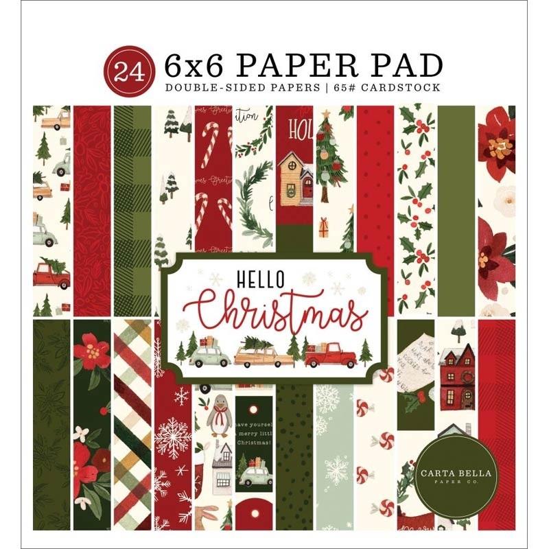 Echo Park Hello Christmas 6x6 Paper Pad