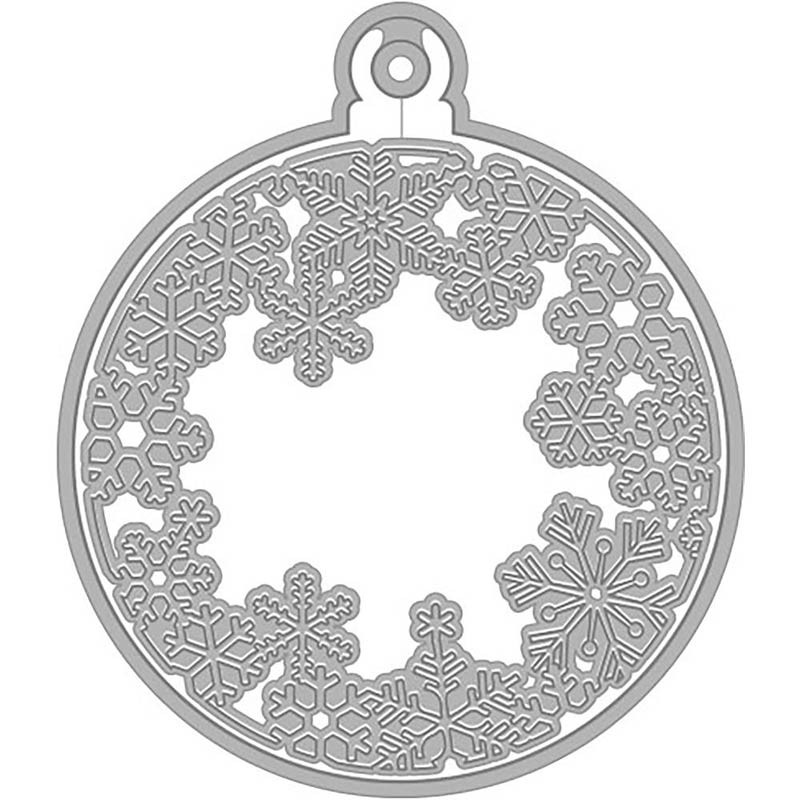 Hero Arts snowflake and ornament die
