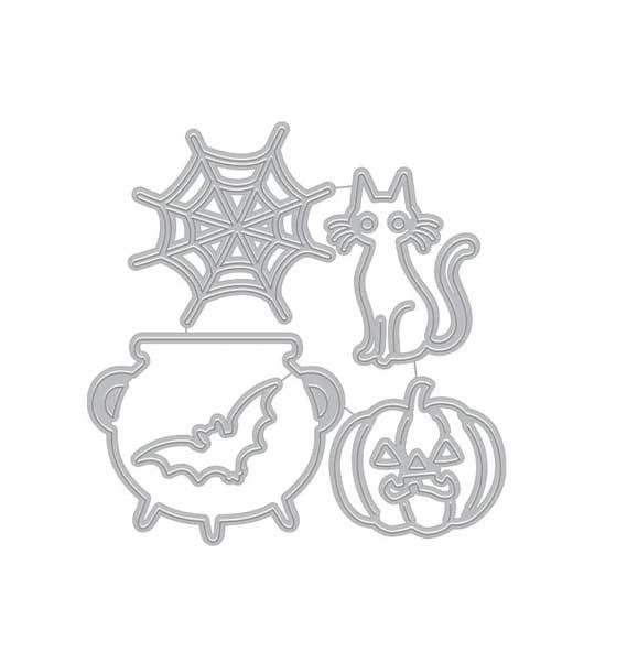 Hero Arts Halloween Icons