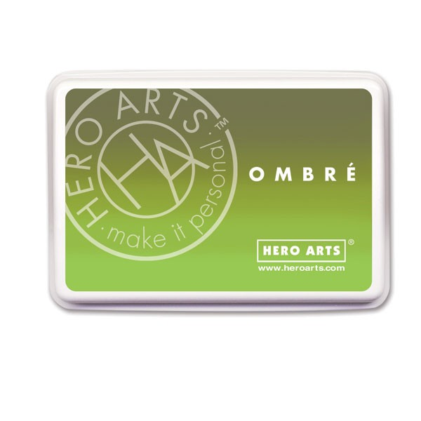 Hero Arts Ombre Lime to Forever Green