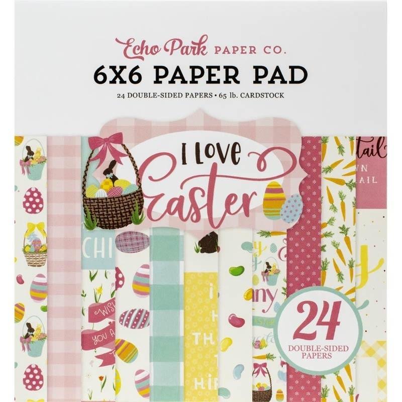 Echo Park I Love Easter paper pack