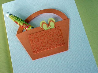 Beach Bag Card