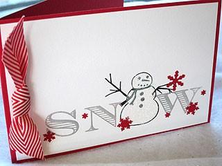 Stick Snowman