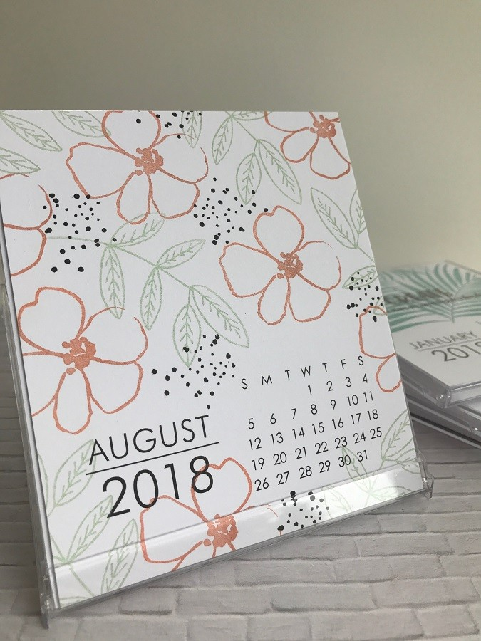 Large Impress 2018 DIY Calendar