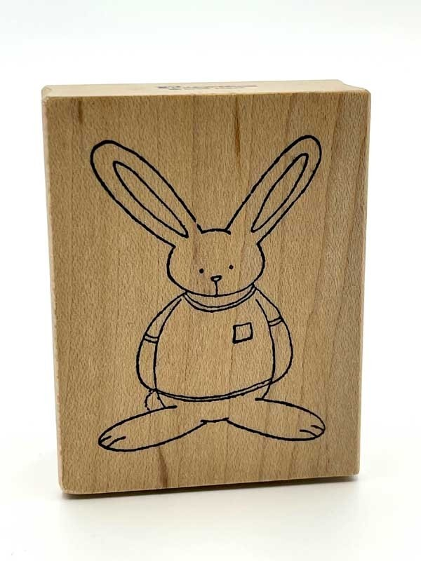 Rubbermoon Rabbit Rubber Stamp