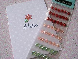 Mini Flower Stickers