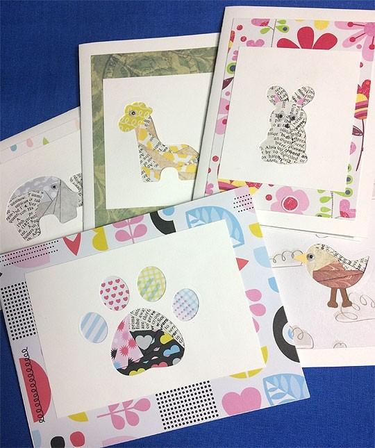 Iris Folding - Happy Spring Animals Card Kit
