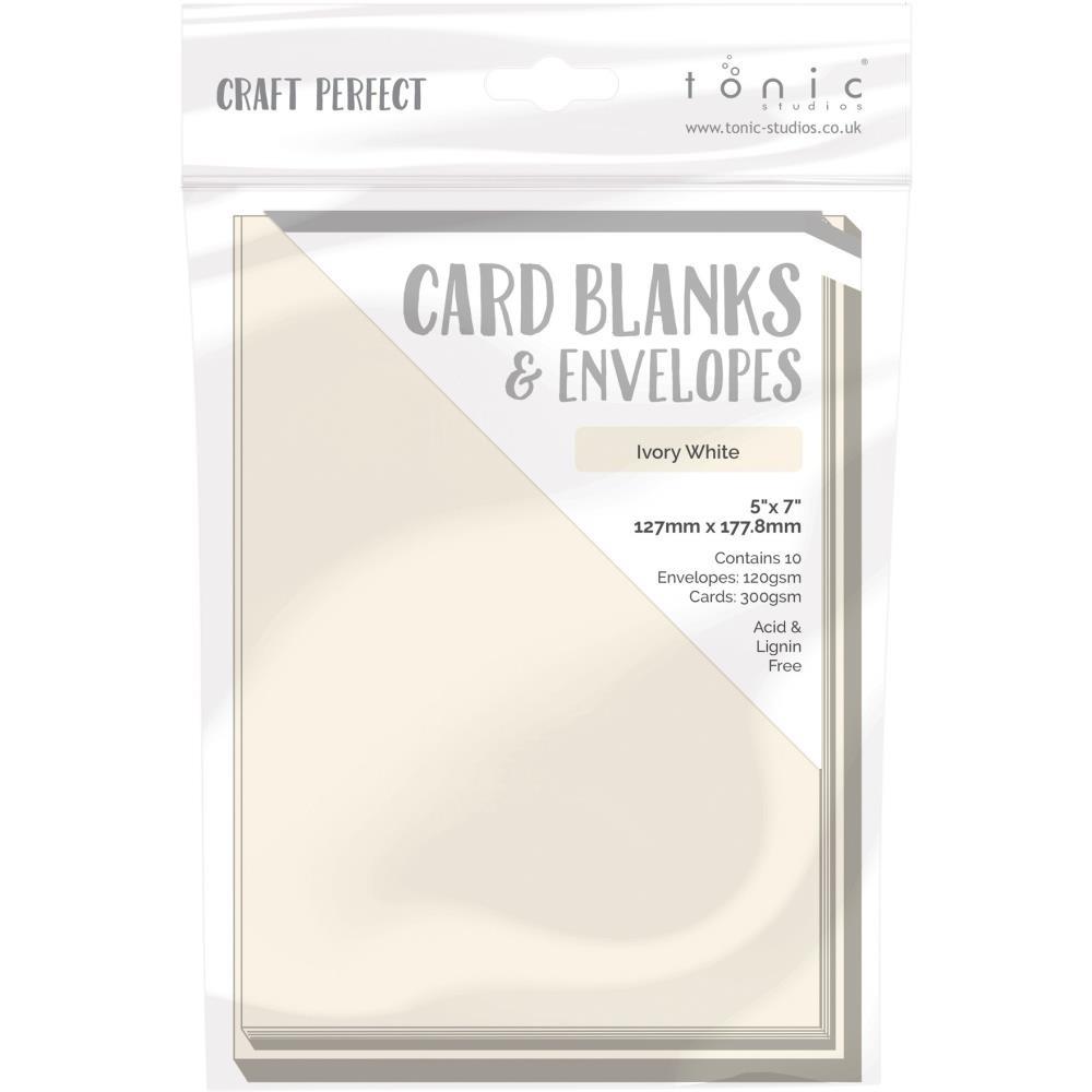 TONIC CARD AND ENVELOPES - IVORY WHITE