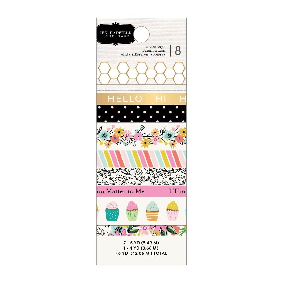 Hey, Hello Washi Tape - Jen Hadfield