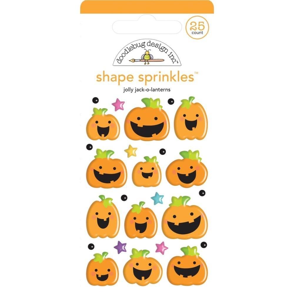 Doodlebug Pumpkin Stickers