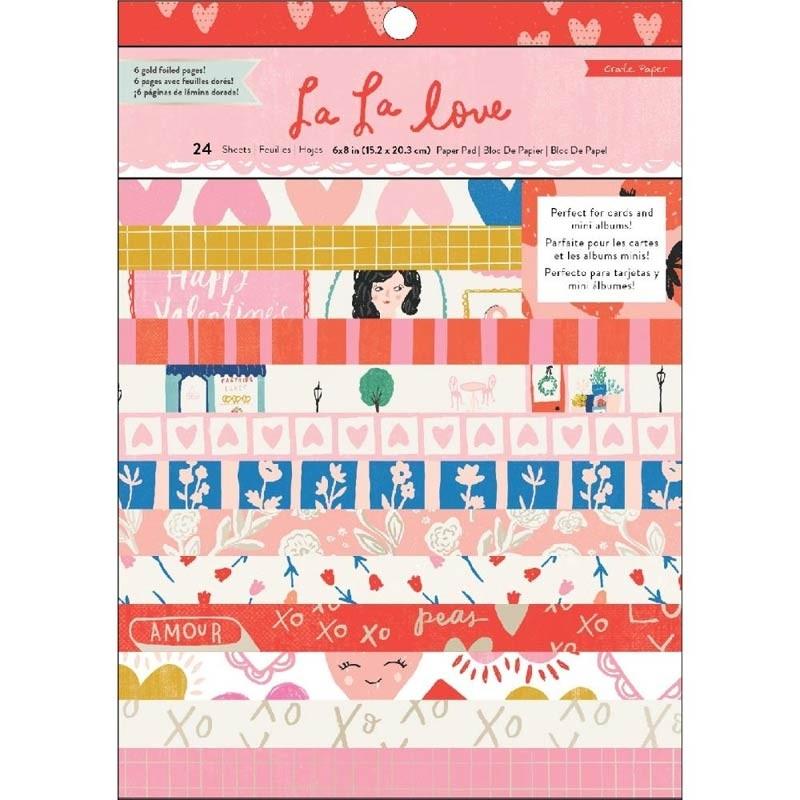 La La Love Paper Pack