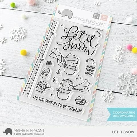 Mama Elephant  Let it Snow