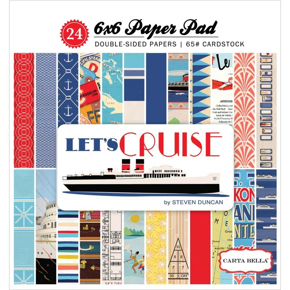 Carta Belle Let's Cruise Paper Pack