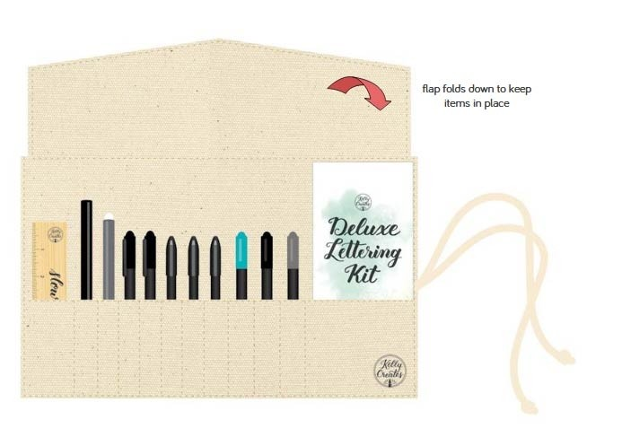 Kelly Creates Deluxe Lettering Kit