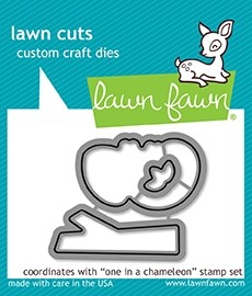 Lawn Fawn One in a Chameleon cuts