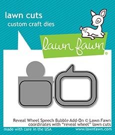 Lawn Fawn Reveal Wheel Speech Bubble add-on