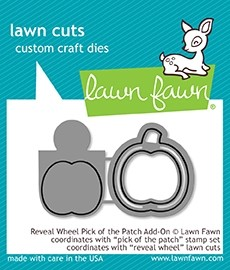 Lawn Fawn reveal wheel pick of the patch add-on