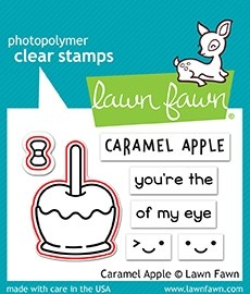 Lawn Fawn caramel apple - lawn cuts