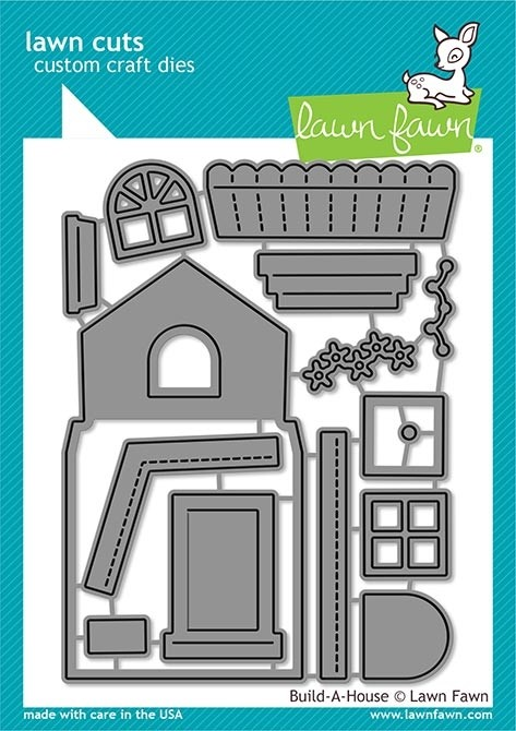 Lawn Fawn build-a-house lf2046