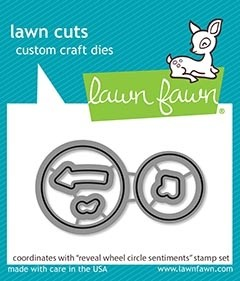Lawn Fawn Reveal Wheel Circle Sentiments cuts LF2226