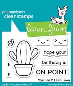 Lawn Fawn Year Ten LF2236