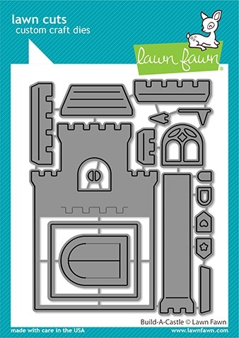 Lawn Fawn build-a-castle LF2347