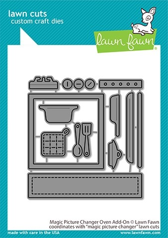 Lawn Fawn Magic Picture Changer Oven Add-on LF2436
