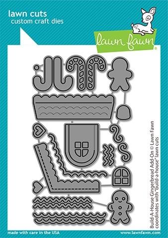 Lawn Fawn Build-a-House Gingerbread Add-on LF2438