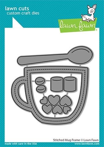 Lawn Fawn Stitched Mug Frame LF2445