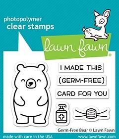 Lawn Fawn germ-free bear LF2462
