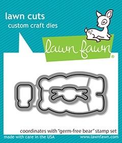 Lawn Fawn germ-free bear cuts LF2463