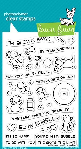 Lawn Fawn Bubbles of Joy lf2500
