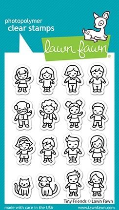 Lawn Fawn Tiny Friends lf2506