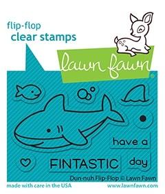 Lawn Fawn duh-nuh flip-flop LF2597