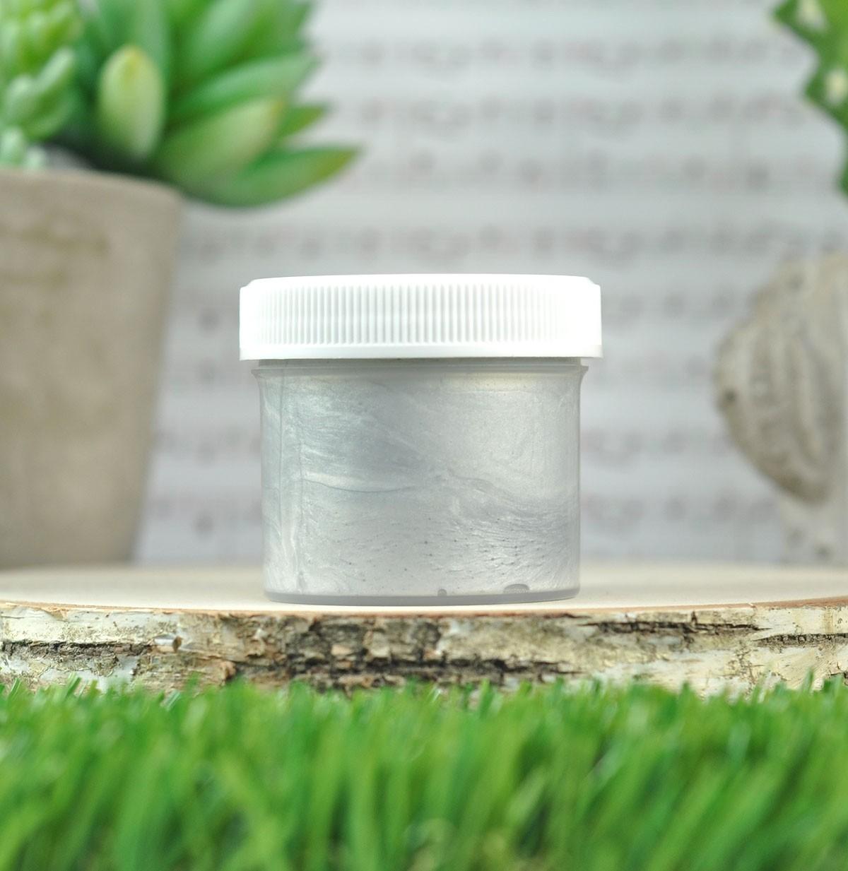 Lawn Fawn  stencil paste - silver LF2714