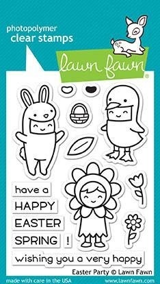 Lawn Fawn Easter Party Clear Stamp Set