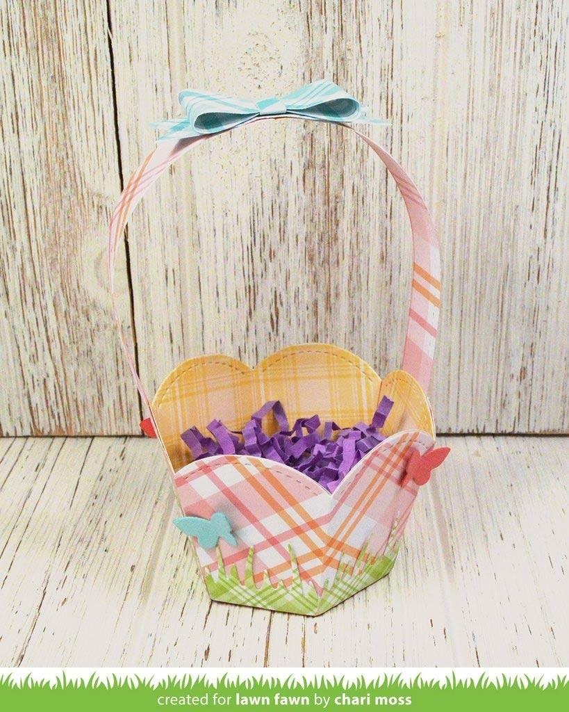 Lawn Fawn Stitched Basket Die