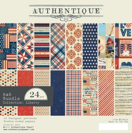 Authentique Liberty Paper Pack