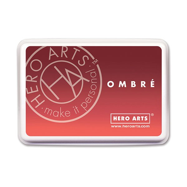 Hero Arts Ombre Pad Light Ruby to Royal Red
