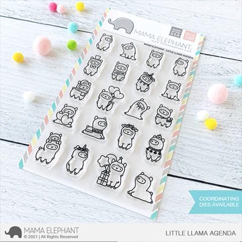 Mama Elephant Little Llama Agenda