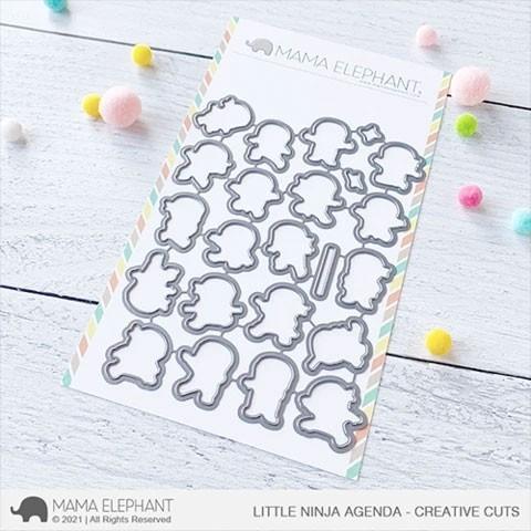 Mama Elephant Little Ninja Agenda - Creative Cuts