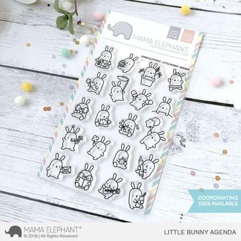 Mama Elephant Little Bunny Agenda
